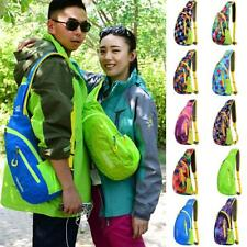 Outdoor Sports Sling Cross Body Shoulder Bag Camping Hiking Chest Bag Backpack