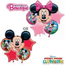 MICKEY MOUSE OR MINNIE MOUSE BIRTHDAY PARTY BALLOON BOUQUET