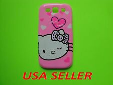 HELLO KITTY BACK HARD CASE COVER FOR SAMSUNG GALAXY S3 I9300