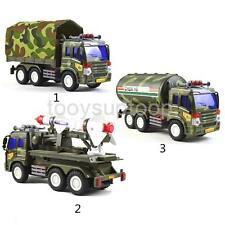 Plastic Army Green Diecast Army Truck Model Vehicles Toy Cars for Collection