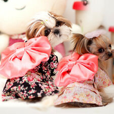 Pet Clothing Dog Clothes Puppy Floral Japanese Kimono Costume Princess Dress