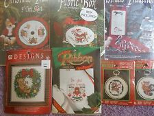 YOUR CHOICE: DESIGNS FOR THE NEEDLE COUNTED/STAMPED CROSS STITCH KITS CHRISTMAS