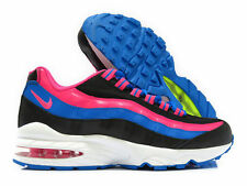 Nike Air Max 95 LE GS Black Pink Blue Volt 310830 007 Women's/Kids Running Shoes