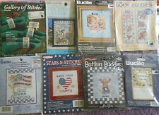 CHOOSE ONE: BUCILLA SMALL STAMPED / COUNTED CROSS STITCH KITS