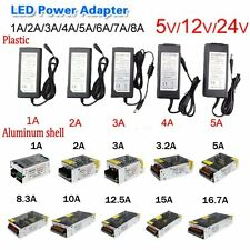 AC100-240V TO DC 5V 12V 24V Power Supply Adapter Transformer For LED Strip Hot