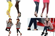 L - New 11 Colors Choose One Ladies Colorful Footless Tights Pantyhose