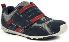Grey, Navy & Red Adrian Pediped Flex Toddlers Shoes Boy - US 6 EUR 22 - 101309