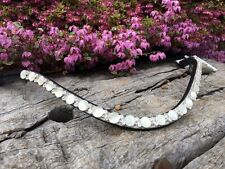 Competition Browband Crystal Pearl Browband Show Browband Full Cob Pony