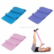 Yoga Training Resistance Bands Gym Fitness Workout Rope Exercise Band 1.5M