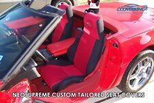 Chevy Corvette C4 Coverking Custom Tailored Front Neosupreme Front Seat Covers