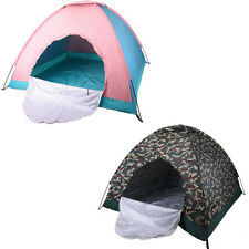 4 Person Outdoor Foldable Tent Beach Camping Hiking Waterproof  Travel Beach