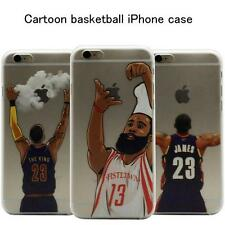 20 Styles Funny Cartoon Basketball Hard Cover Cool Case For iPhone 5S SE 6S