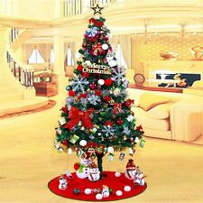 5/6ft 1.5/1.8m Artificial Christmas Tree Green with Metal Stand Xmas Decorations