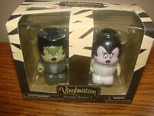 "DISNEY Parks VINYLMATION Set Of 2 SPOOKY Series #1 Collection Halloween 3""  NEW*"