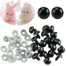 6-10mm Plastic Safety Eyes Washer For Teddy Bear Doll Animal Puppet Toy 100pcs
