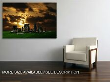 Canvas Print Picture Stonehenge  / Stretched- wrapped ready to hang