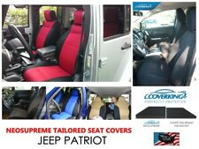 JEEP PATRIOT Coverking Custom Tailored Front & Rear Neosupreme Seat Covers