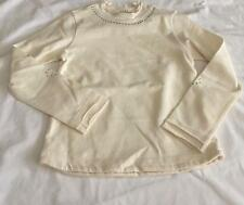 ELIANE ET LENA Girls 2,  4, 5 & 6yrs Balibar Cream/Ecru Jersey Tee Shop Top NWT