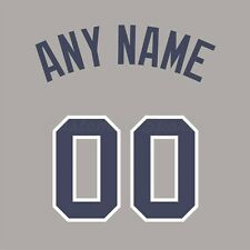 Baseball 2008 All Star National League Jersey Customized Number Kit un-sewn