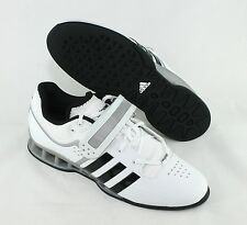 Adidas AdiPower Weightlift Shoes White Black M25733 New Size 12 Weightlifting