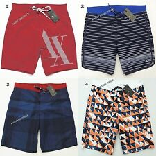 ARMANI EXCHANGE NEW MENS SWIM SHORTS QUICK DRY NWT RETAIL$64.50-$79.50,VERY NICE