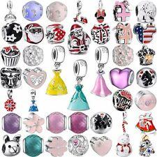 European Charm Bead Cartoon Pendant For 925 Sterling Silver Bracelet Chain Ring