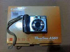 Canon PowerShot A560 7.1 MP Digital Camera Works Good