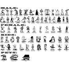 Star Wars Vinyl Decal Sticker Car Window Bumper Laptop Create StarWars Family