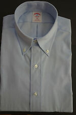 NWOT Brooks Brothers Blue Pinpoint Oxford Button Down 16-34 17-35 USA