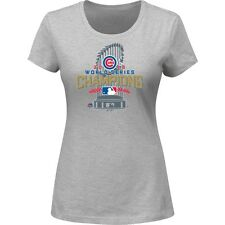 Chicago Cubs Women 's 2016 World Series Champions Locker Room T-Shirt