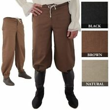 Pirate Pants BROWN Cosplay Reenactment SCA HEMA 100% Cotton Good Quality