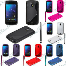 Case Cover TPU Silicone GEL Soft S Wave Samsung Galaxy Nexus i9250 + Film