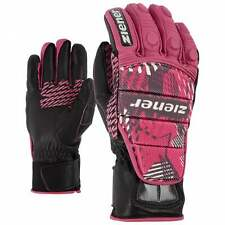 ZIENER Race glove Racing gloves Gloves Leather Grib pink 766 new