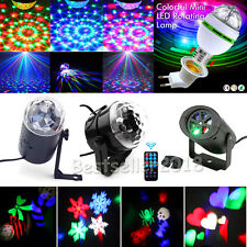 RGB LED Laser Projector DJ Disco Bar Stage Lighting Lights Xmas Party Lamp HOT