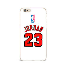 NBA Jordan Chicago Bulls 23 TPU Rubber Silicone Clear Cover Case For iPhone