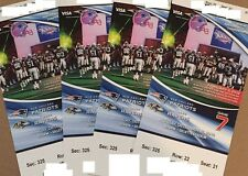 New England Patriots vs. Baltimore Ravens, 4 tix, Section 325 only $100 each
