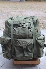 US Army OD Large ALICE LC-1 Combat Field Pack with Frame, Straps, Belt