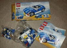 Lego Creator 3 in 1 Blue Roadster (6913) - unopened parts bags