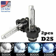 2Pcs 35W D2S/D2C/D2R Xenon Car Replacement HID White Headlight Light Lamp Bulbs