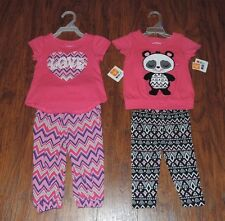 New! Healthtex Baby/Toddler girls outfit Sizes 12M, 18M, 24M, 4T