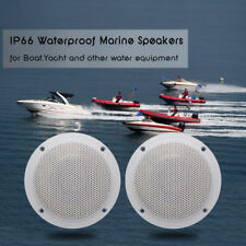 "4"" 2-Way Waterproof Marine/Boat Speakers System SPA Golf ATV/UTV Outdoor Stereo"