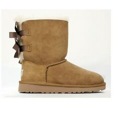 UGG AUSTRALIA KIDS' BAILEY BOW (CHESTNUT) 3280