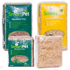Meadow Hay Feed ~ Barley Straw Bedding ~ SmartPet for small pets and rodants