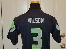 Brand New w/Tags Navy Seattle Seahawks Russell Wilson #3 NFL Jersey Youth Sizes