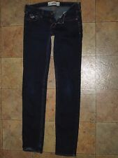 *VERY GOOD CONDITION* HOLLISTER Stretch Jeans Sz 1 R w25 L33