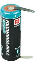 RS Pro 1.2V NiMH Tagged Terminal F NiMH Rechargeable Battery, 13000mAh