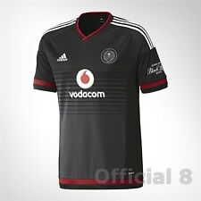 Orlando Pirates 2016 Home Soccer Jersey Football Shirt adidas South Africa