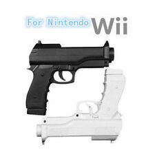 2x Pistol Shooting Light Gun Sport Video For Nintendo Wii Remote Controller Game