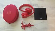 Authentic Beats by Dr. Dre Solo HD Headband Headphones w/ControlTalk - Matte Red