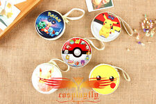 Cosplay Pokemon Pikachu Five Version Purse Wallet Coin Purse New